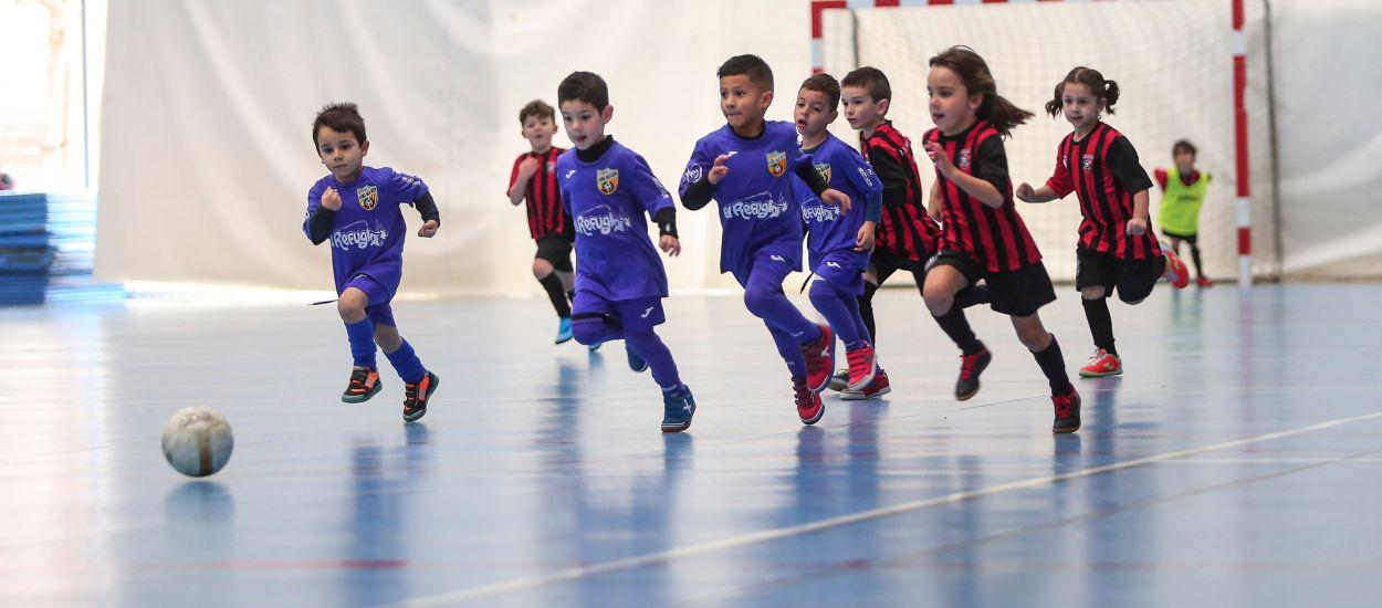 Els Debutants de futbol sala són els protagonistes del cap de setmana a Barcelona, Lleida i Girona