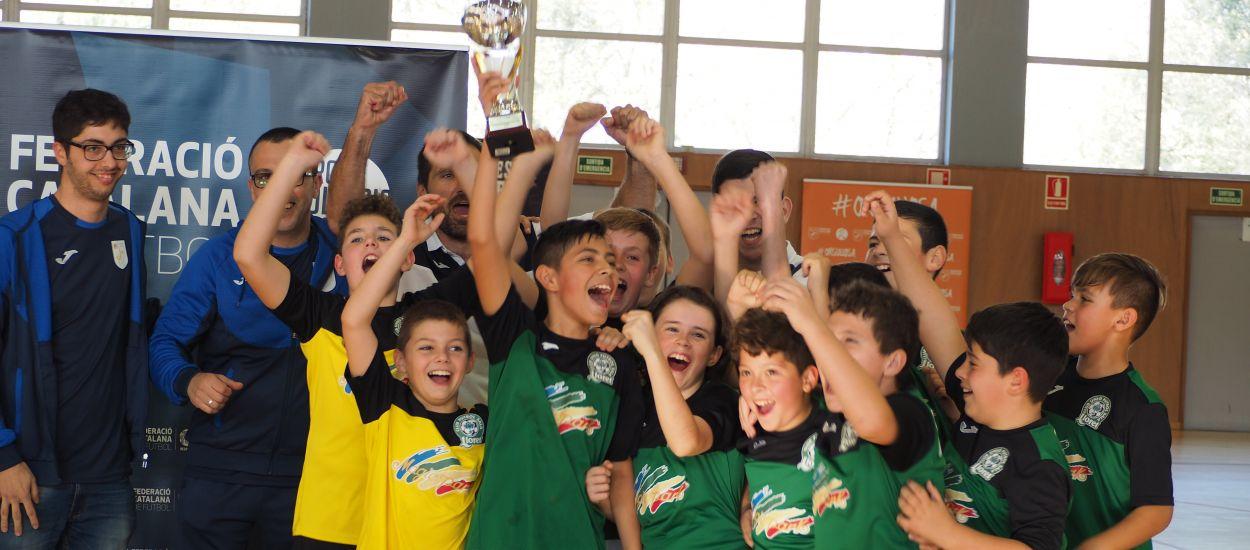 Els campions de la Copa Territori es guanyen el bitllet per a la Copa Catalunya de futbol sala