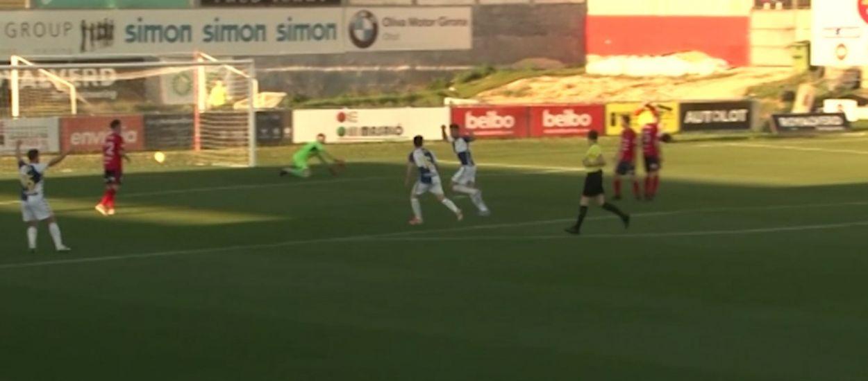 Resum i gols de la jornada 26 de Segona Divisió 'B' (Grup 3)