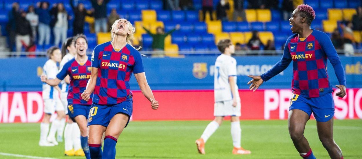 El FC Barcelona, a semifinals de la Copa de la Reina