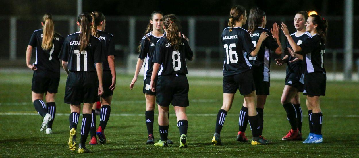Siete catalanas convocadas con la Selección Española sub 17 femenina