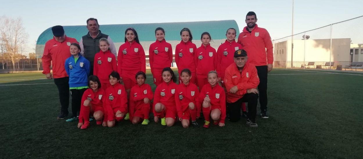 Celebrat l'entrenament de la sub 11 femenina del Penedès-Garraf