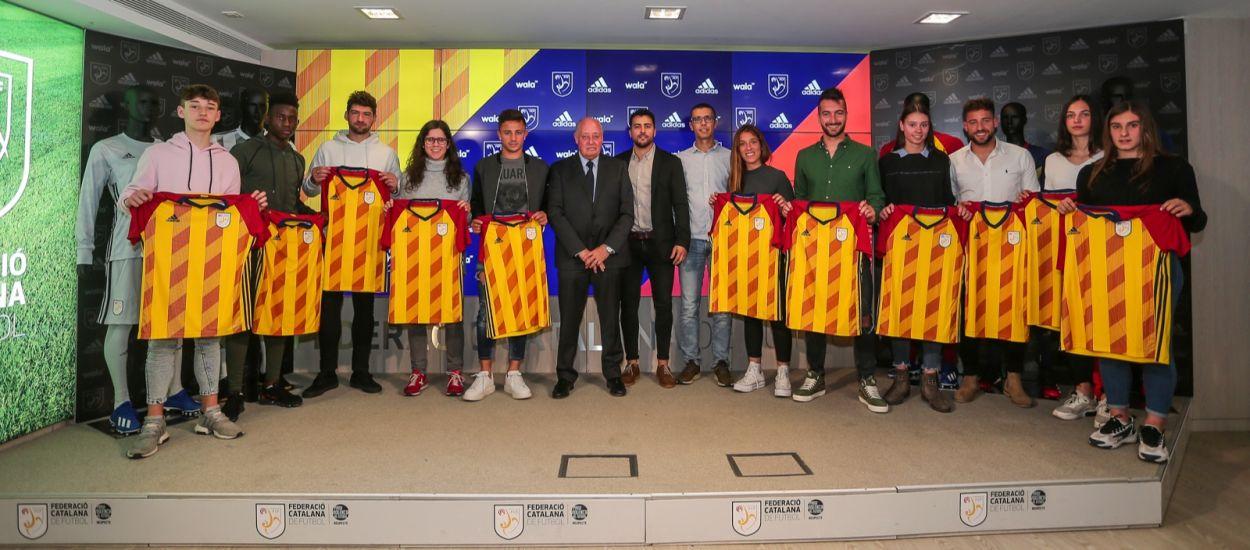 La Selección Catalana luce nueva piel Adidas