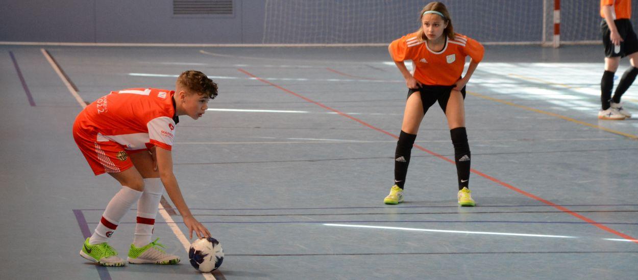 Últim test amb derrota de la Selecció Catalana Infantil femenina de futbol sala