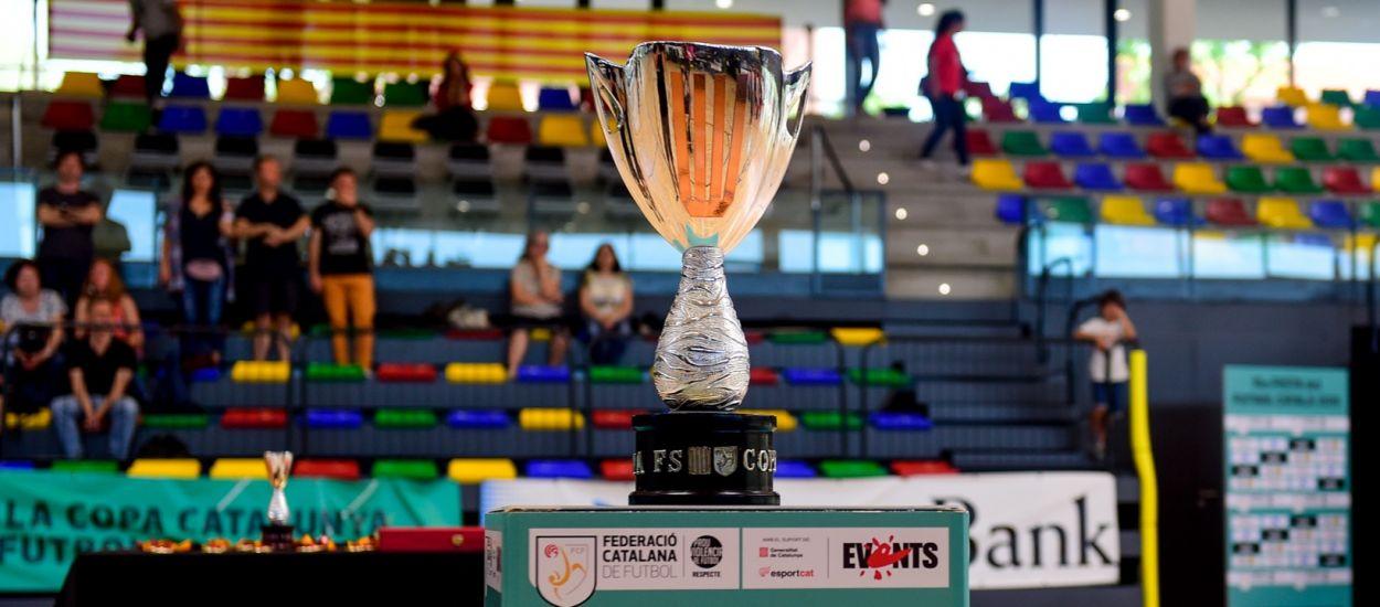 El sorteo de la Copa Catalunya de Fútbol Sala será retransmitido por primera vez en directo
