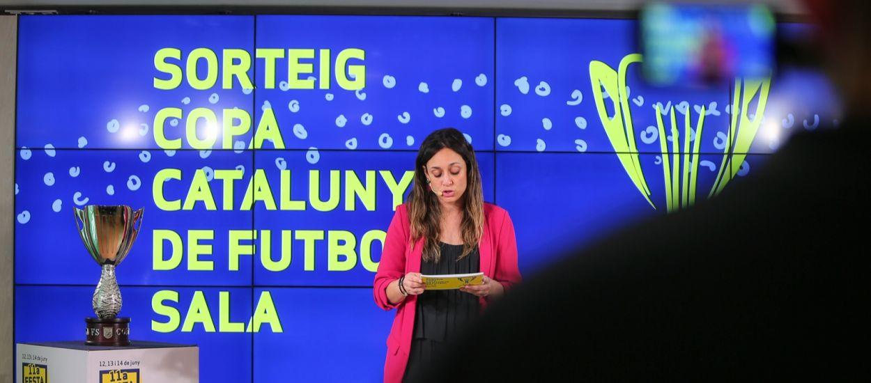 Enquadrats els caps de sèrie de la Copa Catalunya de futbol sala