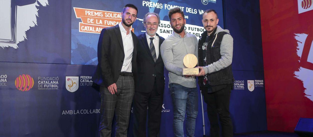 El primer club federat català amb equip de futbol per a amputats