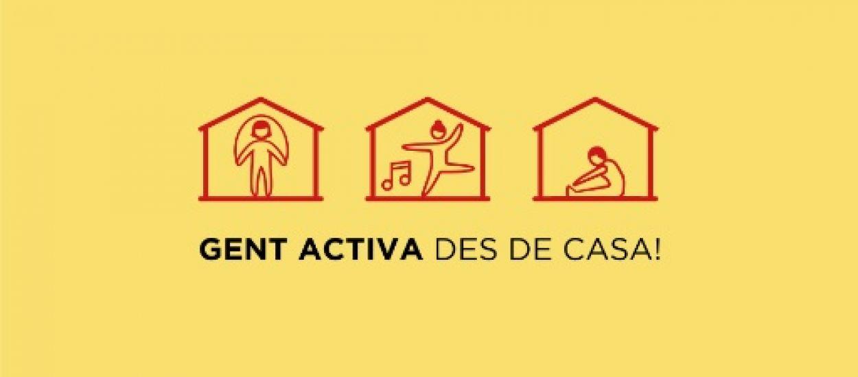 L'FCF, amb la campanya 'Gent activa des de casa!'