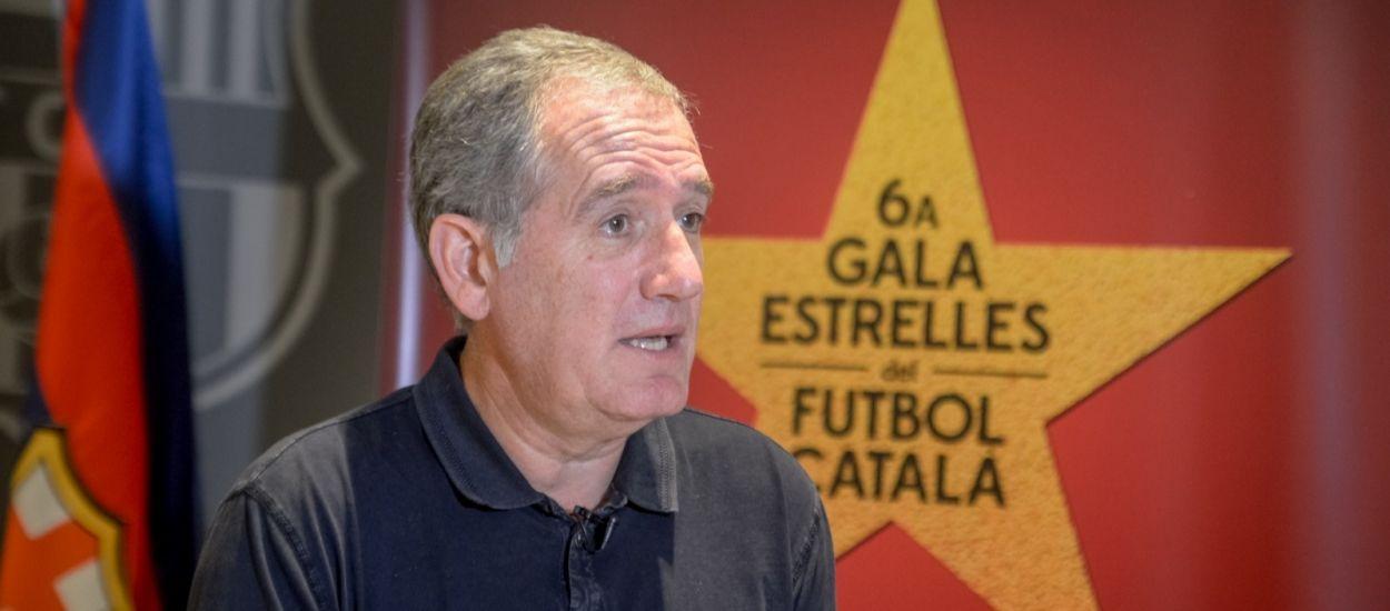 L'entrenador català Andreu Plaza i el Barça, reconeguts com els millors del món de futbol sala