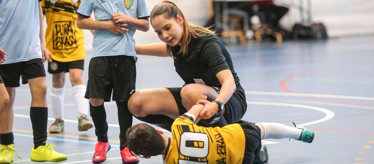 L'increment de l'arbitratge femení en el futbol sala català