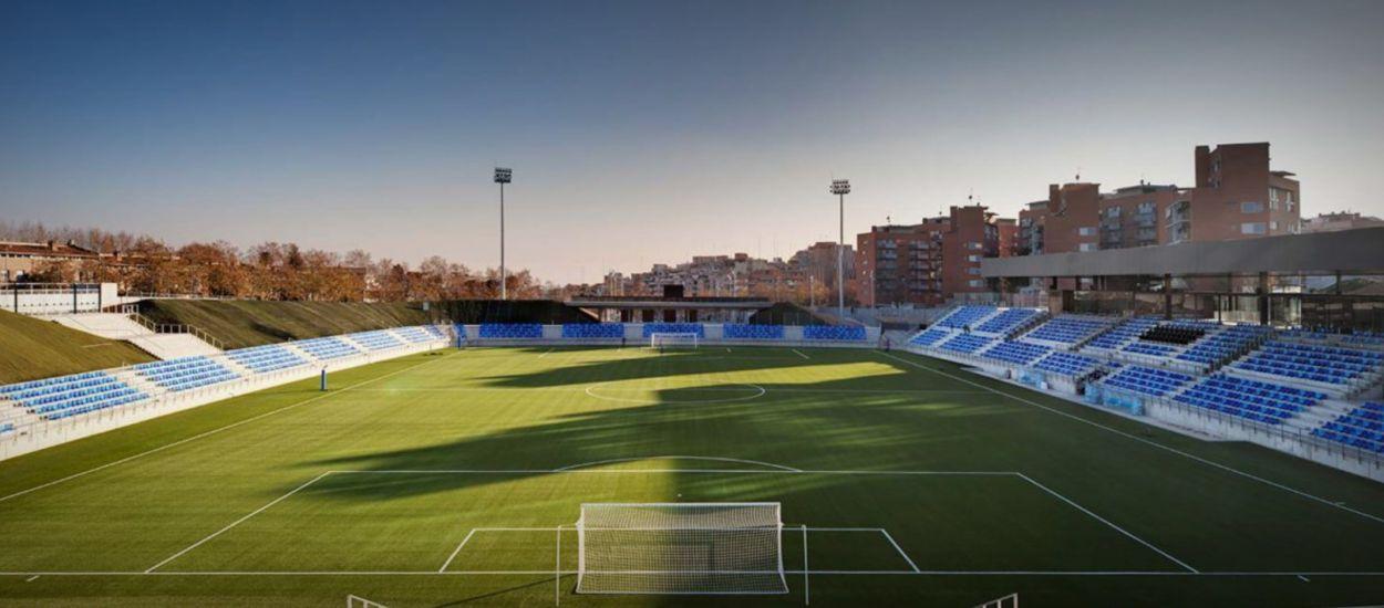 L'Estadi Municipal de Badalona, seu del play-off d'ascens a Segona 'B'