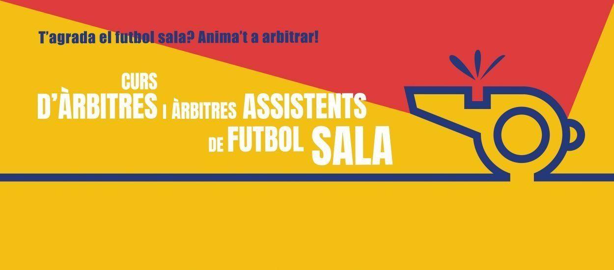 Darrers dies i últimes places per apuntar-se al curs d'Àrbitres i d'Àrbitres Assistents de futbol sala en format online