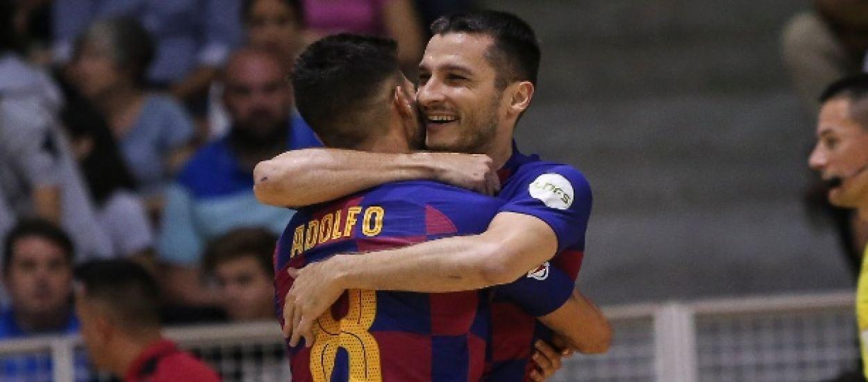 El Palau Blaugrana acogerá la 'final four' de la Champions de fútbol sala