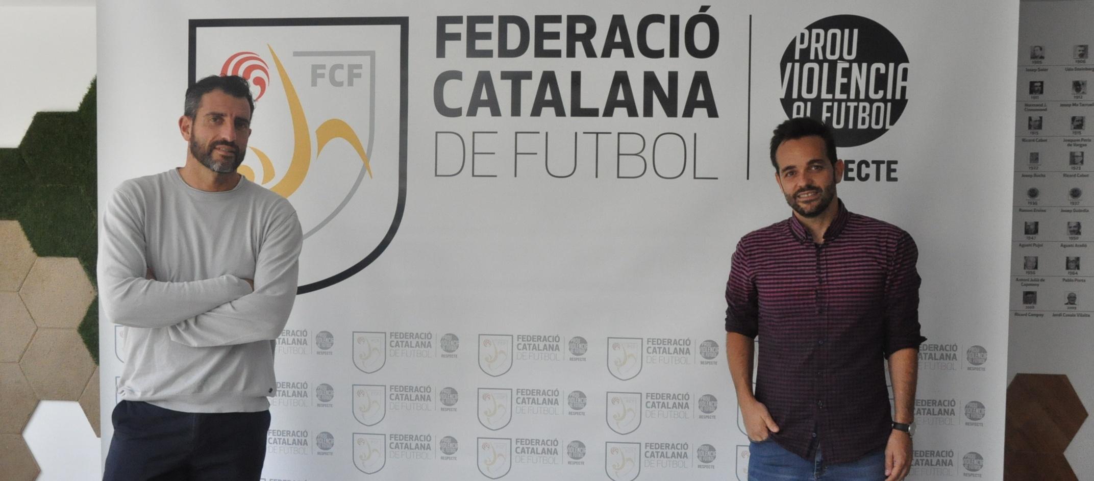 Visita institucional de Dani Poyatos a l'FCF