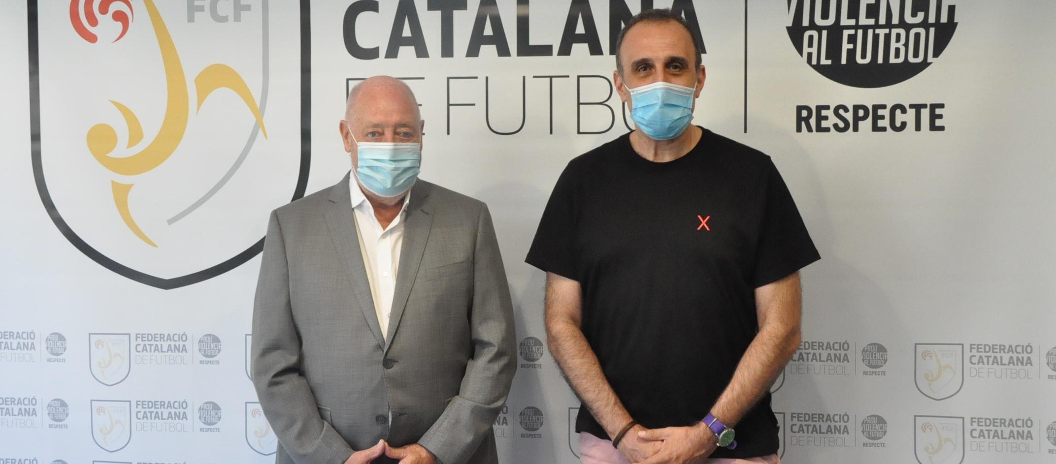 Xesco Espar visita l'FCF