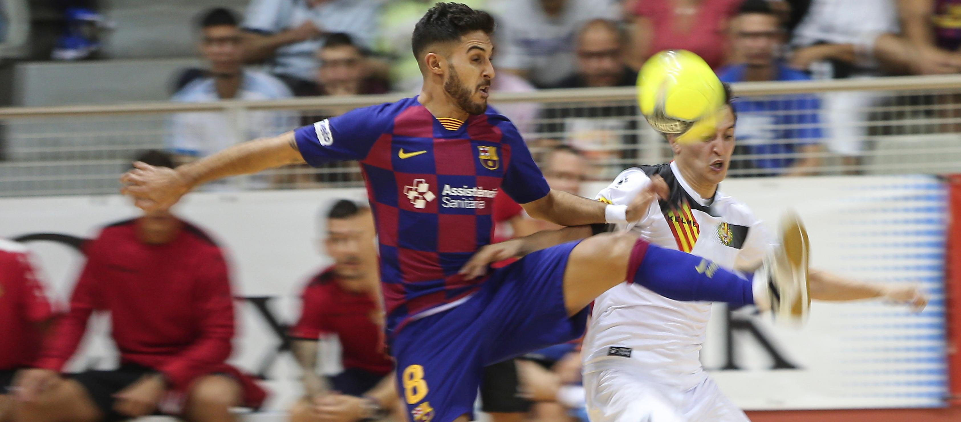 Adolfo Fernández, escollit com a millor ala de la 1a divisió Nacional de futbol sala