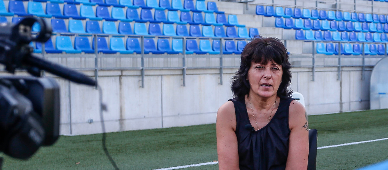 """Pilar Ruiz: """"En els propers tres anys espero veure el Sènior femení a la Primera Divisió"""""""