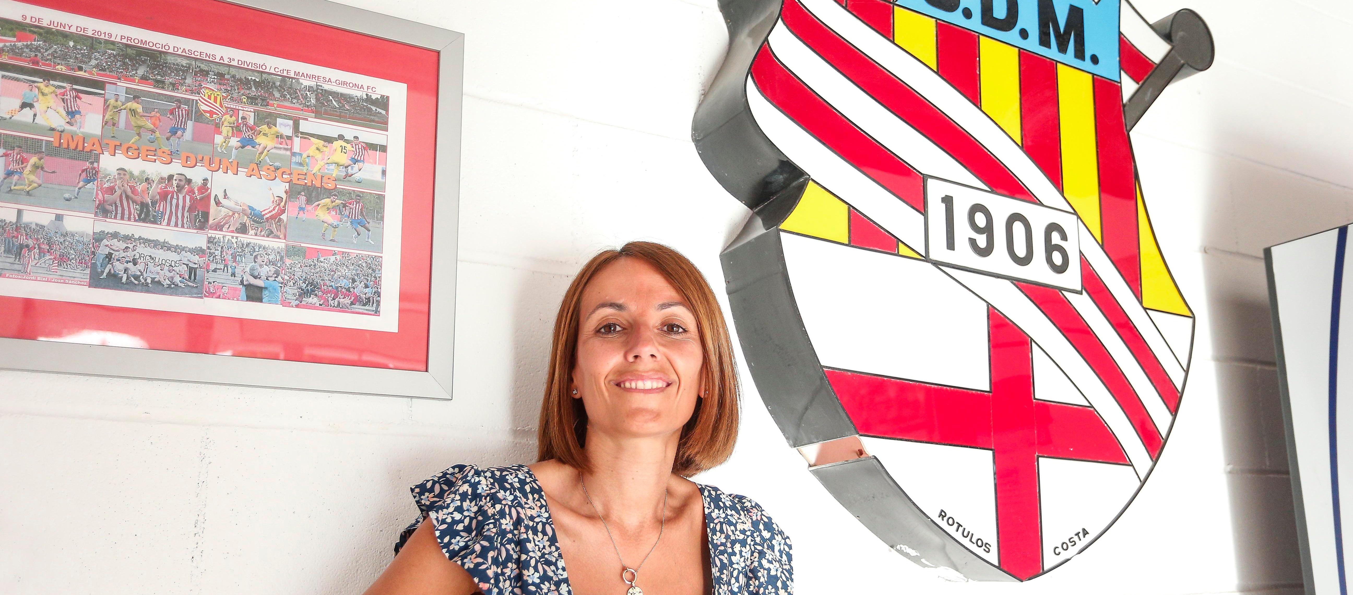 """Ruth Guerrero: """"Hem estat molt transparents, venim a treballar i a millorar econòmica i esportivament"""""""