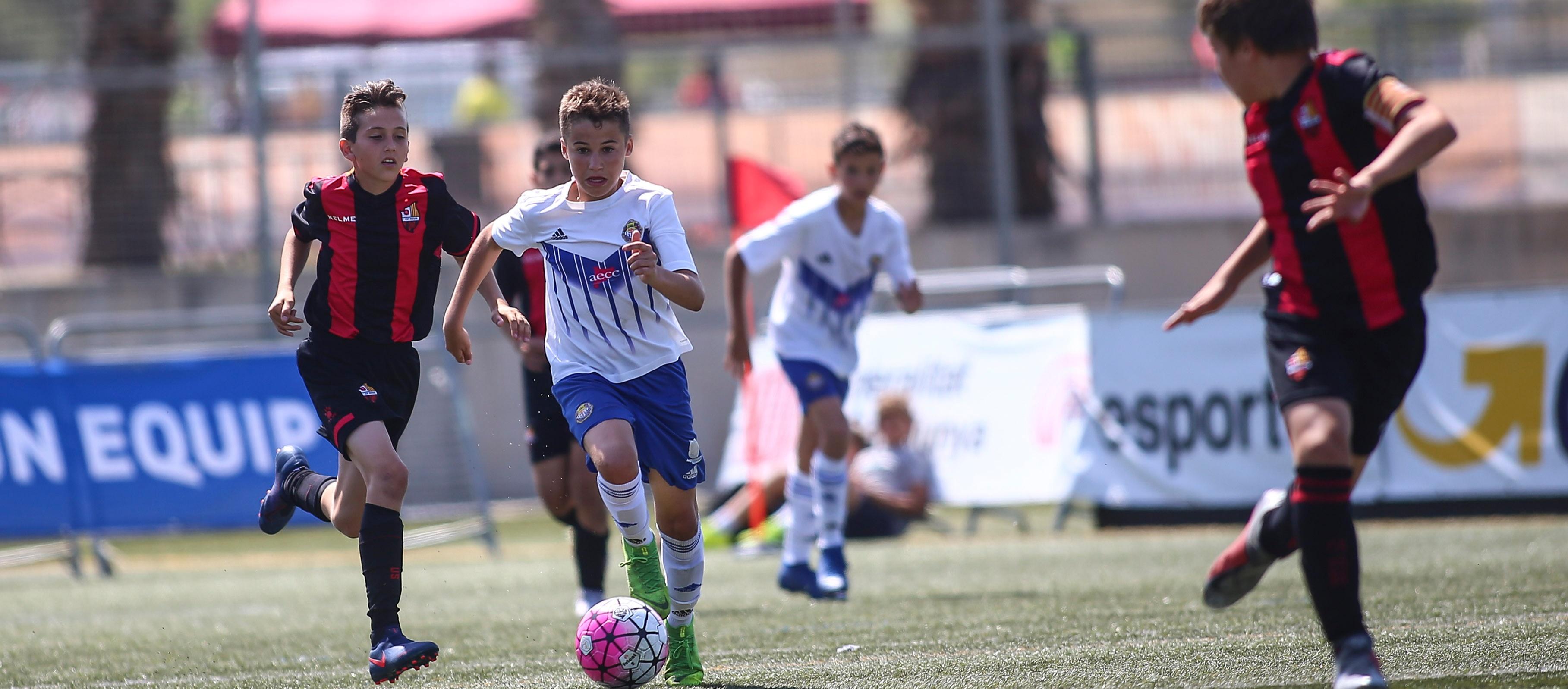 Els partits de Futbol 7 tindran una màxima diferència de 10 gols