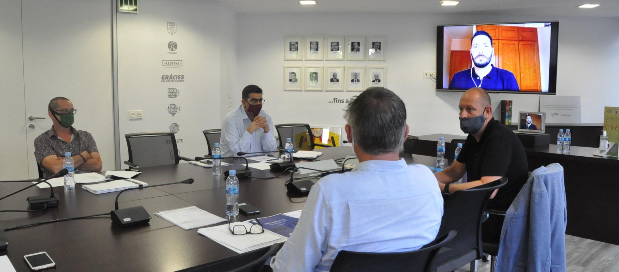 Primera reunió dels seleccionadors catalans de futbol