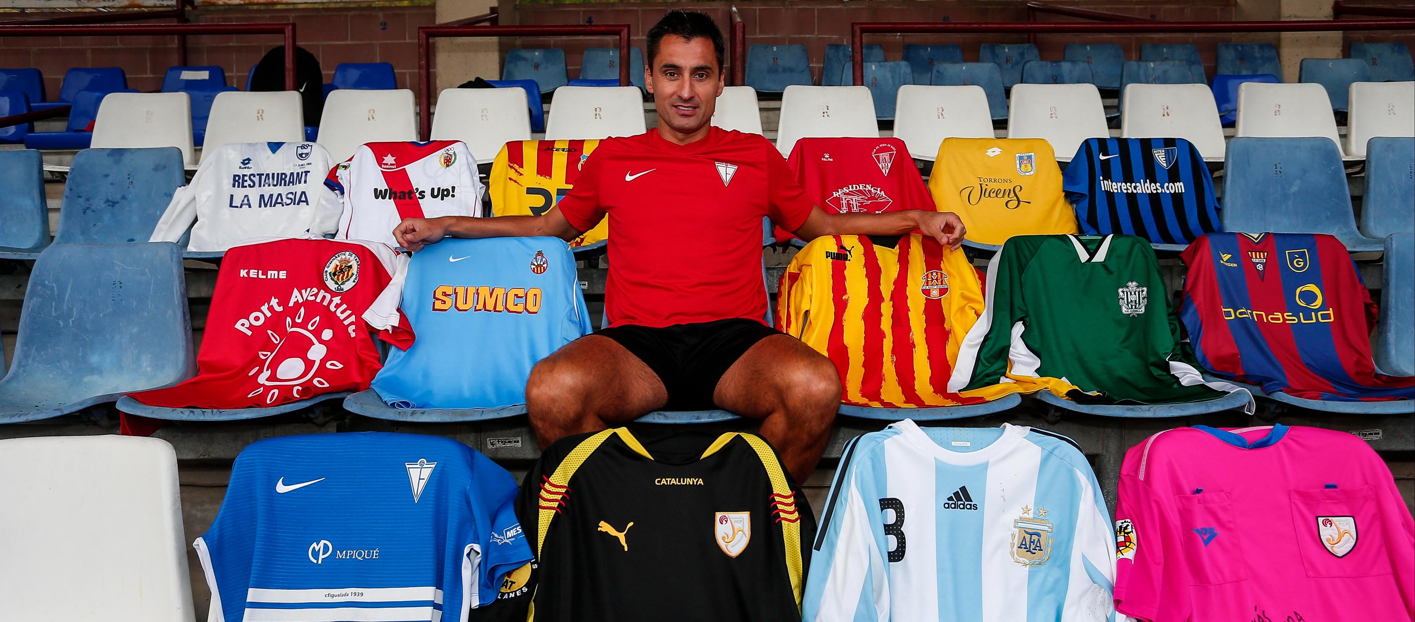 """Santi Triguero: """"El meu gol més important és l'estima que m'emporto del futbol català"""""""