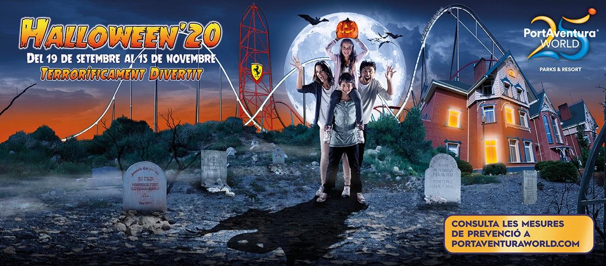 El Portal del Federat et porta a PortAventura World per Halloween