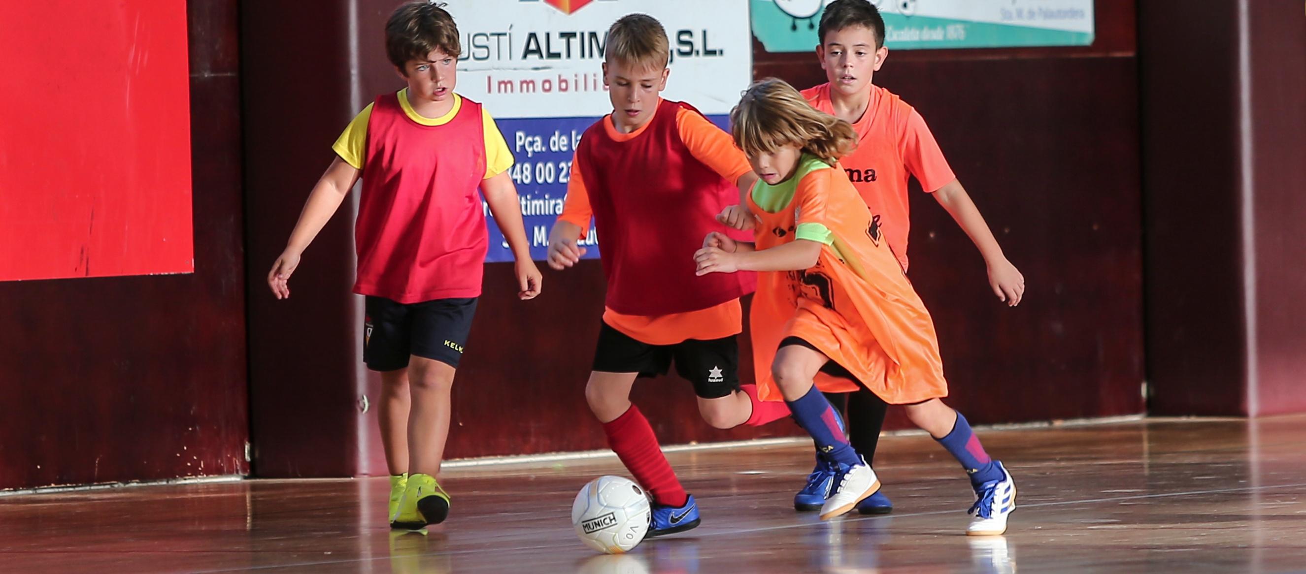 Modificacions en les agrupacions provisionals de futbol sala