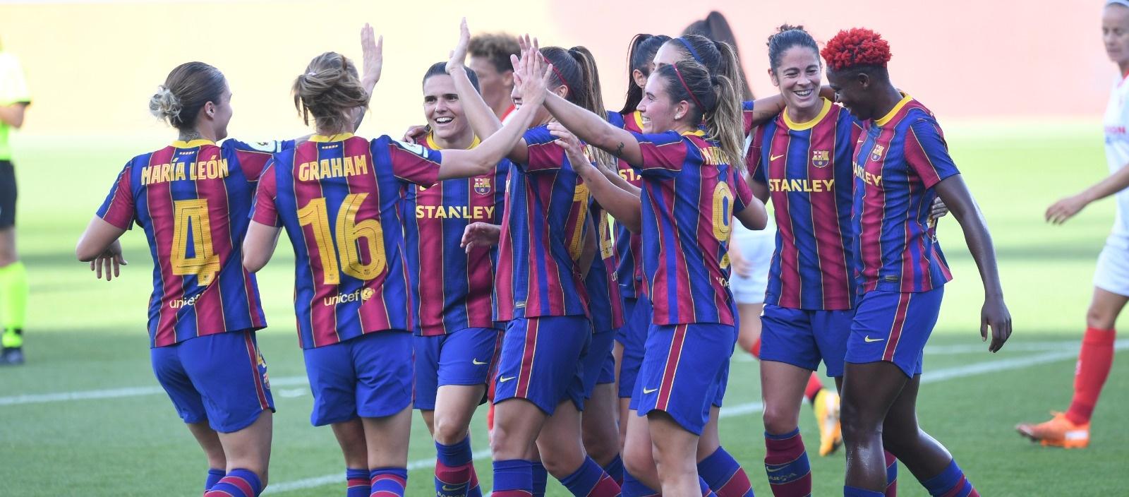 El FC Barcelona Femení, classificat per a la final de la Copa de la Reina