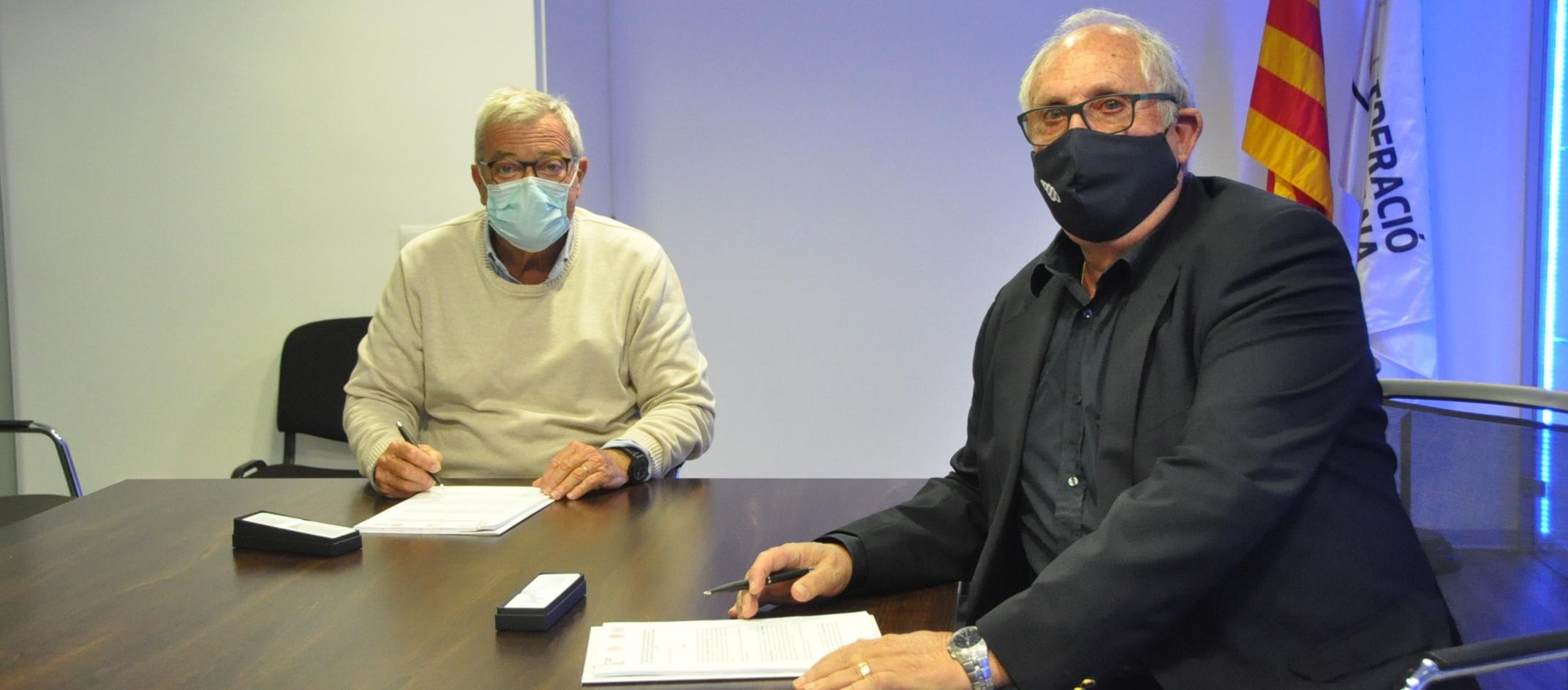 L'FCF i la seva Fundació signen un nou conveni amb Fedamar