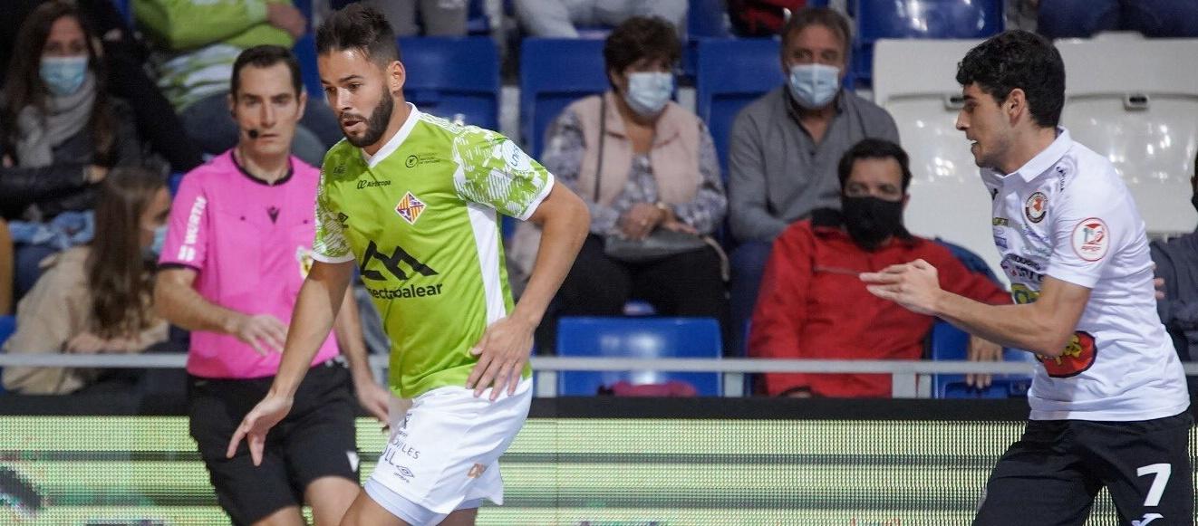 Bernardo Simón debuta a Primera Divisió nacional de futbol sala
