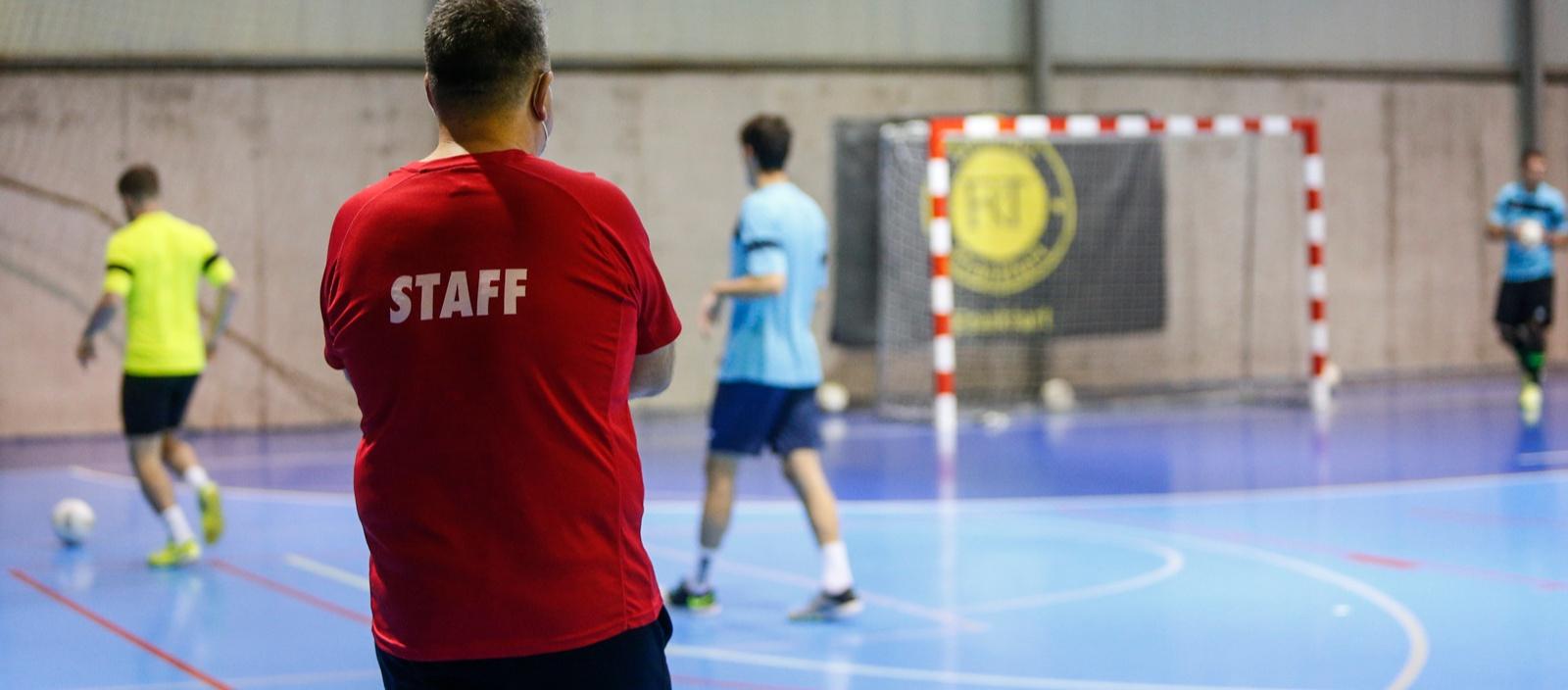 Nuevo formato de aprendizaje con el primer Curso de Entrenador de Futbol Sala Nacional C