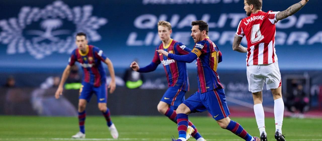 El FC Barcelona perd la Supercopa d'Espanya a la pròrroga