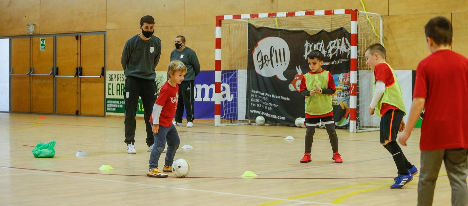 El Club Pineda de Mar Futbol Sala és el protagonista de la 4a Jornada de Tecnificació