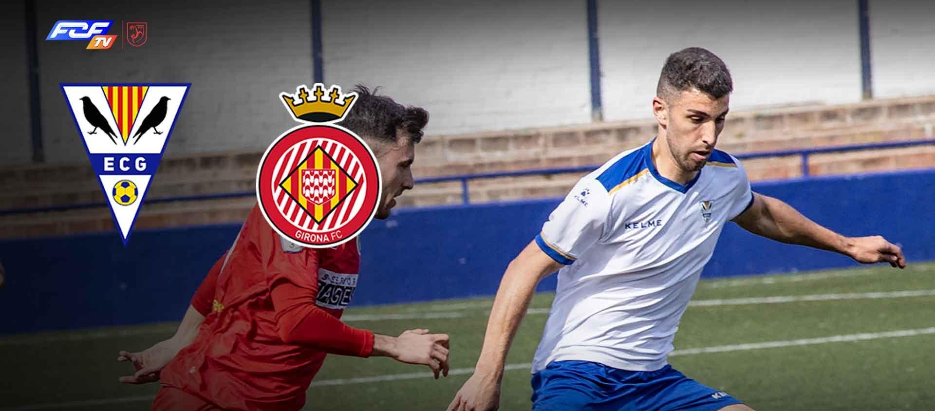 L'FCF TV retransmetrà el partit Juvenil EC Granollers contra el Girona FC