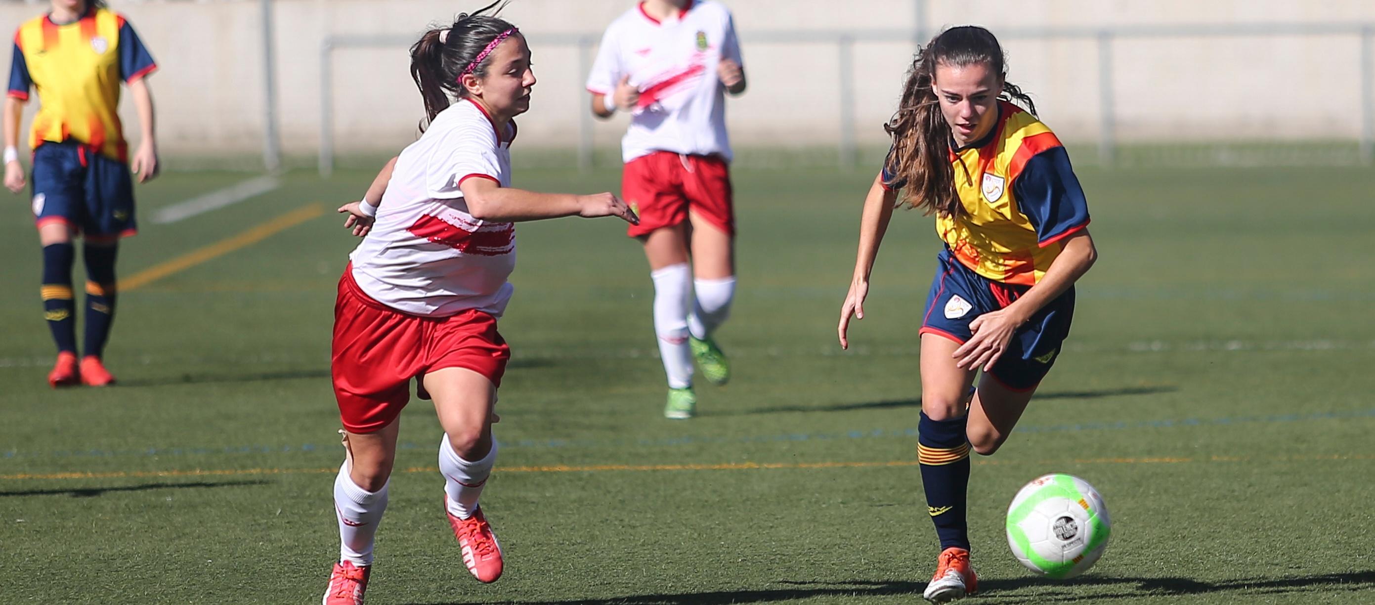 Set catalanes a la llista de la Selecció Espanyola sub 23 femenina per entrenar a Marbella