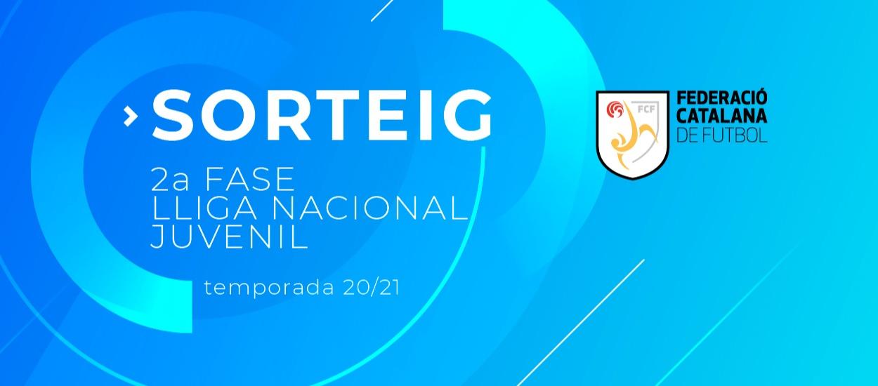 El sorteig de la segona fase de la Lliga Nacional Juvenil, a l'FCF TV