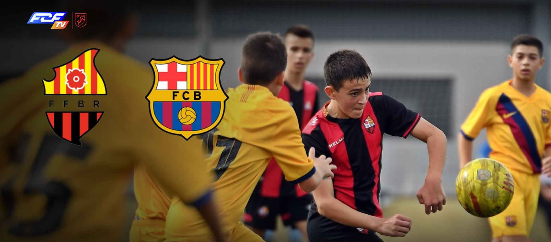 L'FCF TV retransmetrà el partit infantil FF Base Reus-FC Barcelona