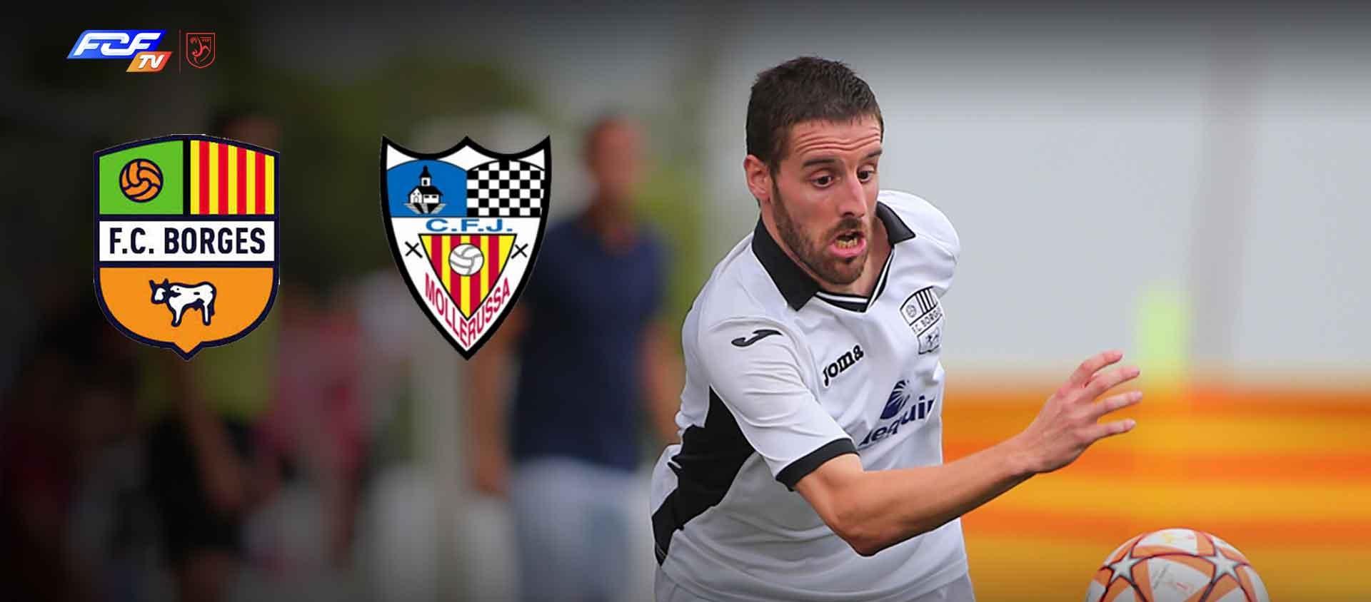 El derbi lleidatà CF Borges Blanques-CFJ Mollerussa, en streaming a l'FCF TV