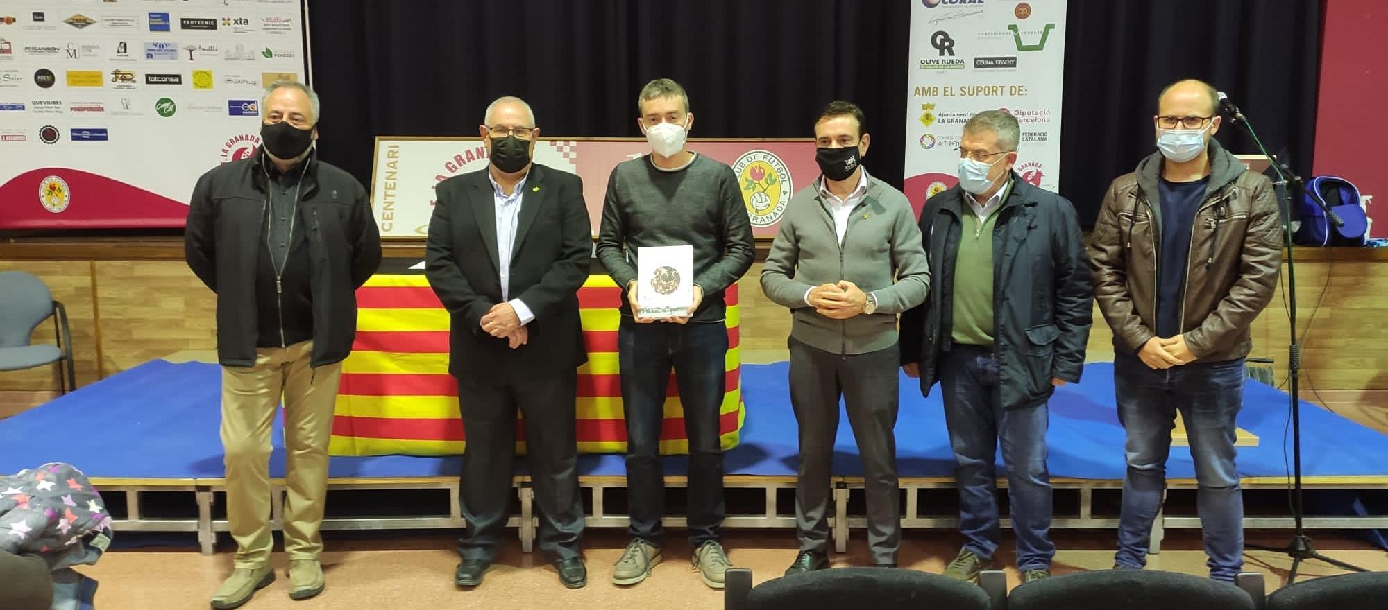 L'FCF, a la presentació del llibre 'Història del CF La Granada'