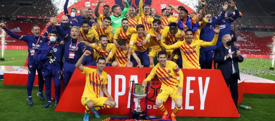 El FC Barcelona, rei de Copes