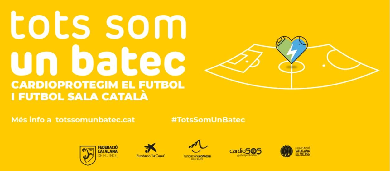 L'FCF activa el programa de cardioprotecció per a tot el futbol i futbol sala català