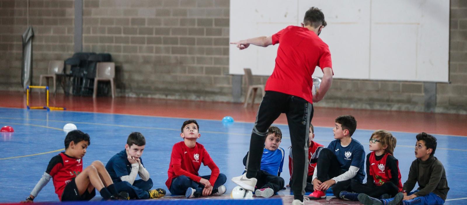 L'examen pràctic presencial del Curs d'Entrenador Nacional C de futbol sala