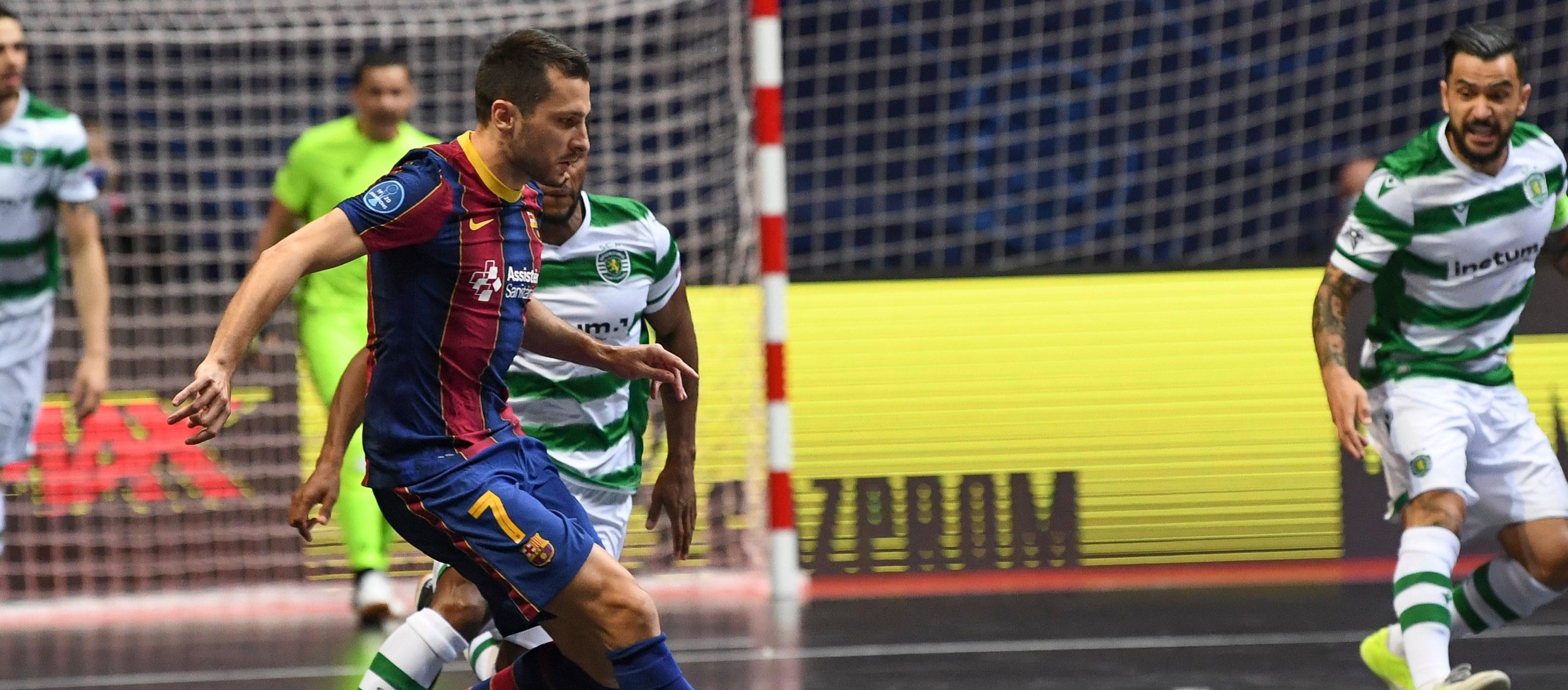 Al Barça se li escapa la UEFA Futsal Champions League