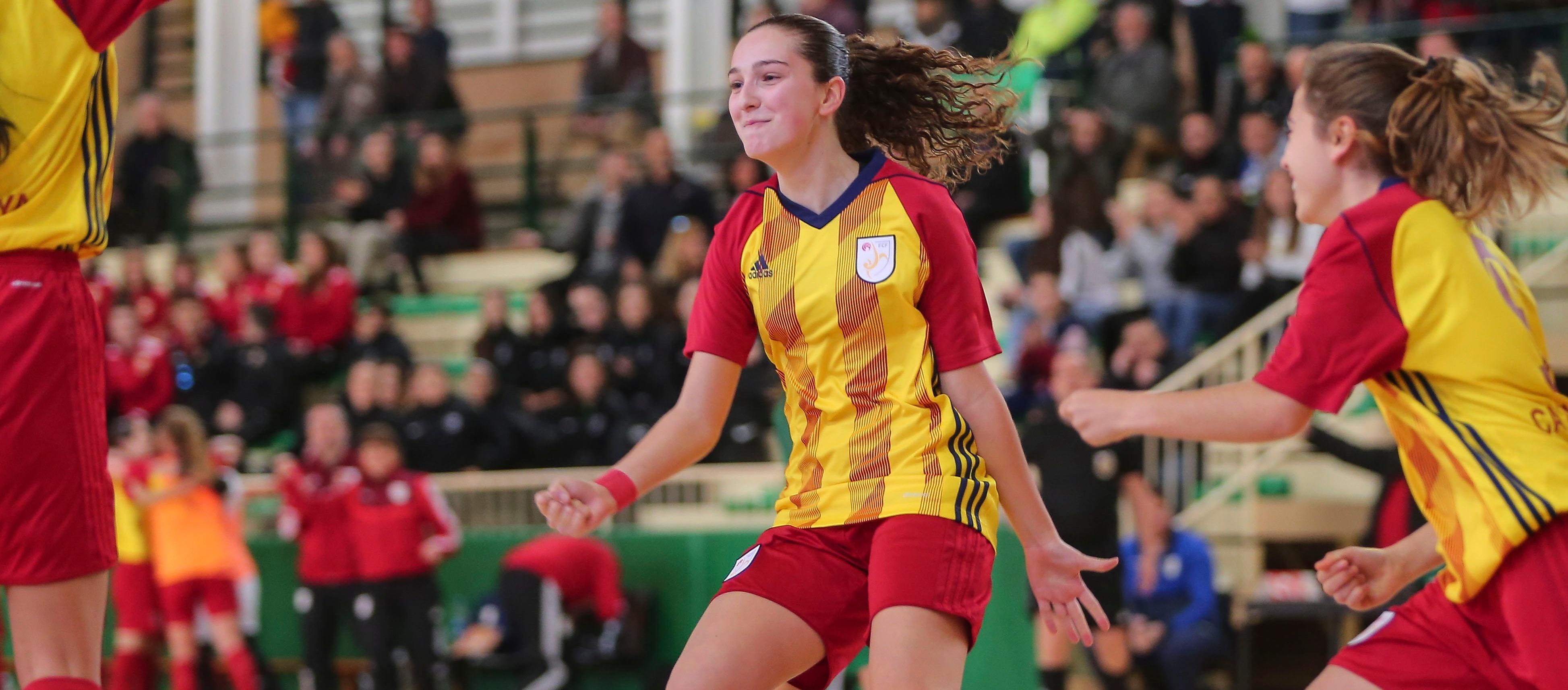 Cinc catalanes convocades amb la Selecció Espanyola sub 21 i sub 19 femenina de futbol sala