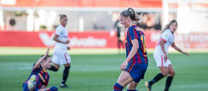 El FC Barcelona es classifica per la semifinal de la Copa de la Reina a Sevilla