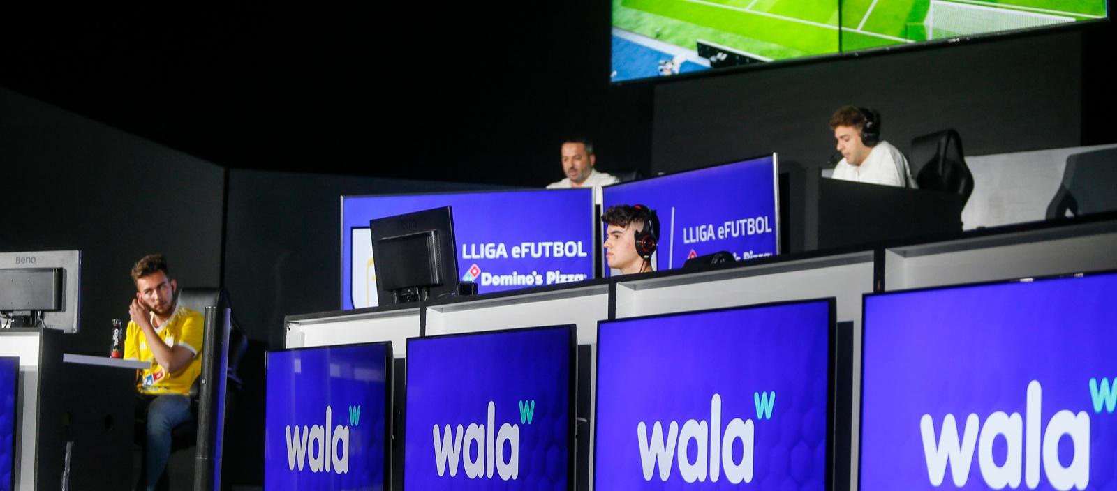 Jordi Martínez i Biel Amatllé, finalistes de la Lliga E-Futbol