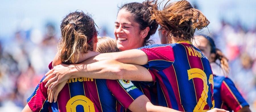 El FC Barcelona es proclama campió de Lliga