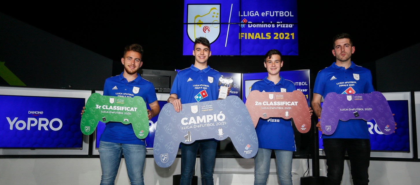 Vibrant i emocionant Fase Final de la Lliga E-Futbol