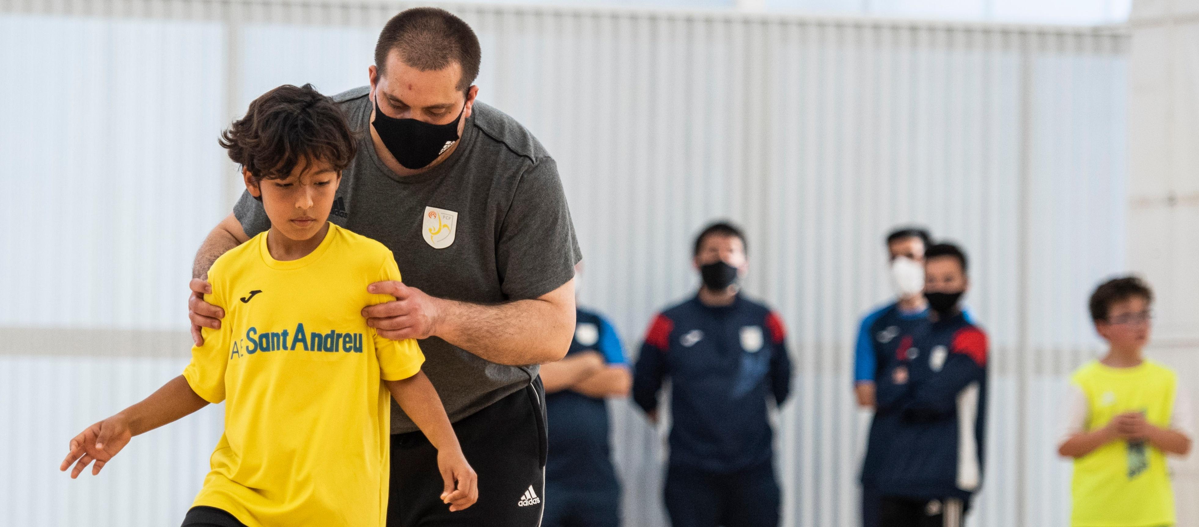 Les Jornades de Tecnificació de futbol sala arriben a Barcelona