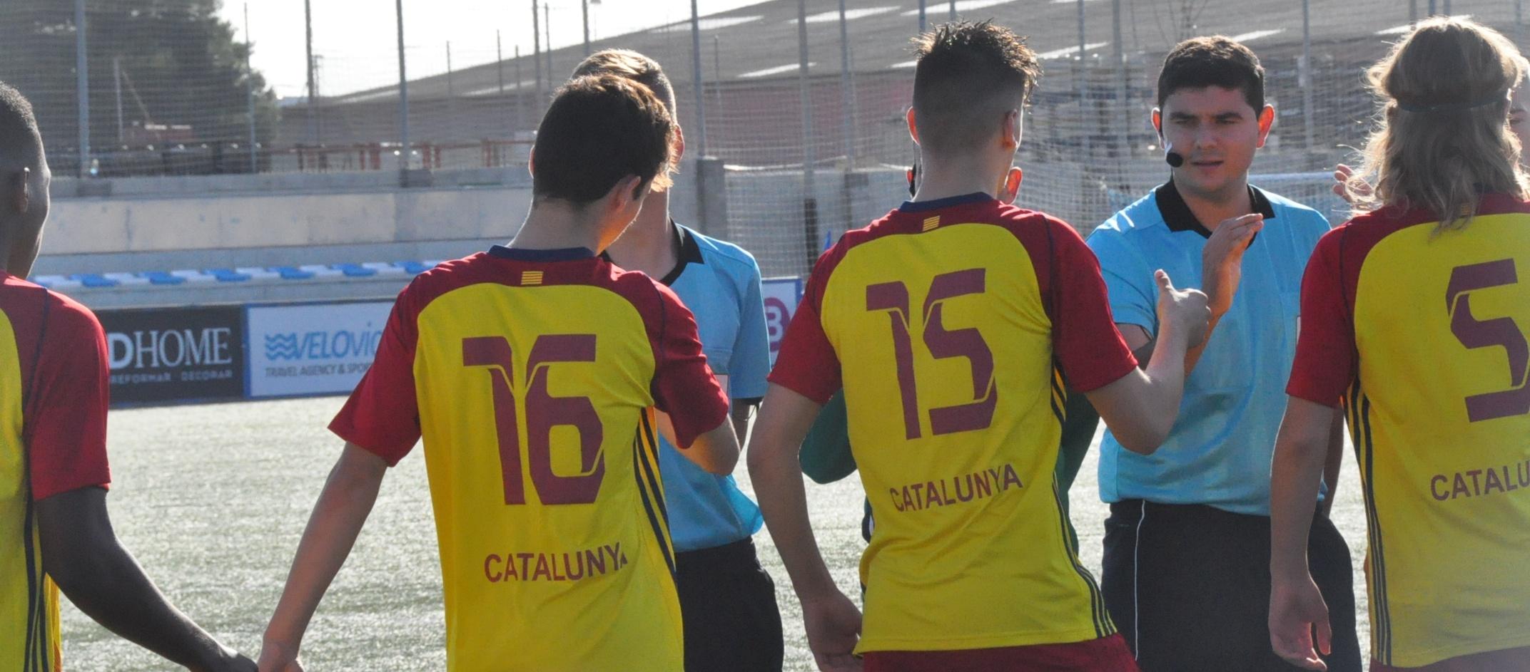 Vuit catalans convocats amb la Selecció Espanyola sub 17 masculina